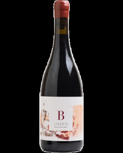 B Vintners Liberte 2018 wine bottle shot