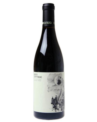 Burn Cottage Pinot Noir 2015 wine bottle shot