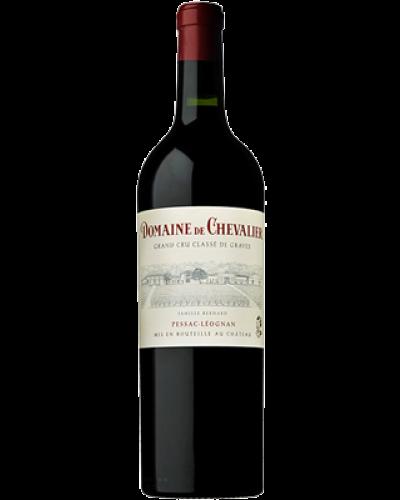 Domaine de Chevalier Pessac Leognan Rouge 2017 wine bottle shot