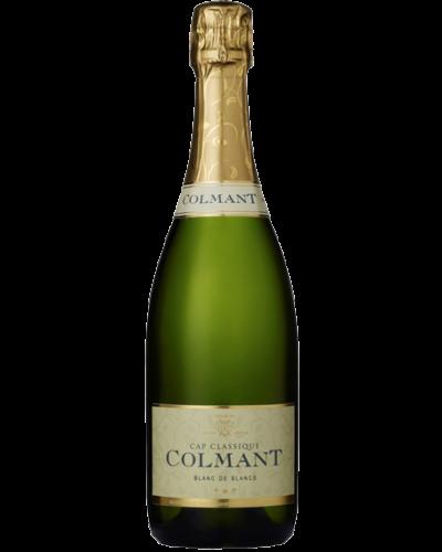 Colmant Blanc de Blancs NV wine bottle shot