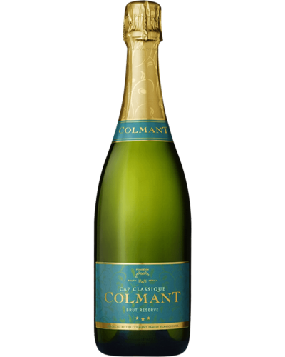 Colmant Brut Reserve NV wine bottle shot