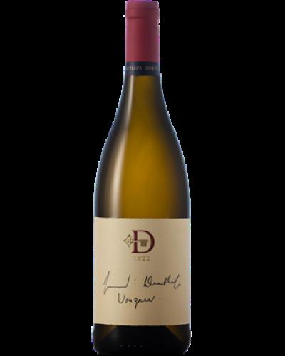Deetlefs Signature Viognier 2019 wine bottle shot