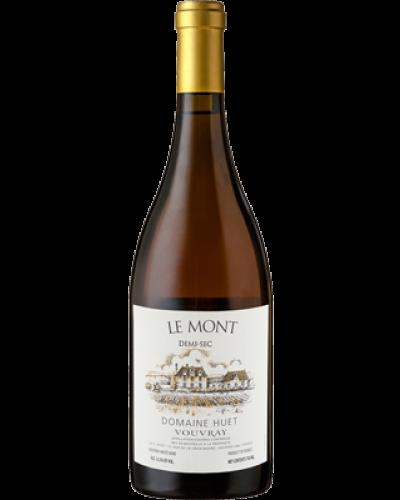 Huet Le Mont Demi Sec 1999 wine bottle shot