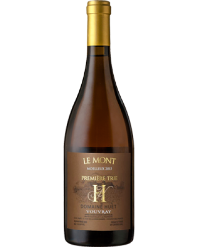 Huet Le Mont Moelleux 1er Trie 2018 wine bottle shot