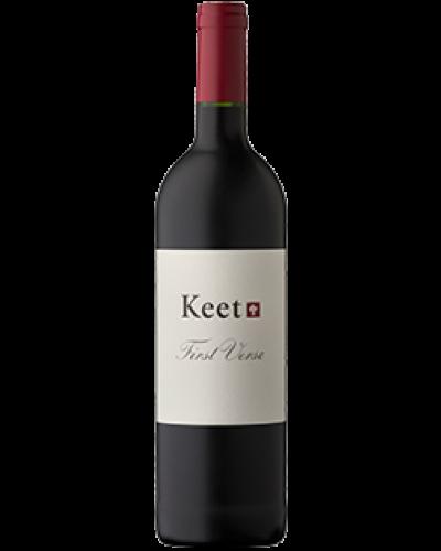 Keet First Verse 2017 wine bottle shot