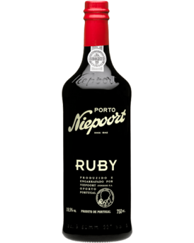 Niepoort Ruby Port NV wine bottle shot