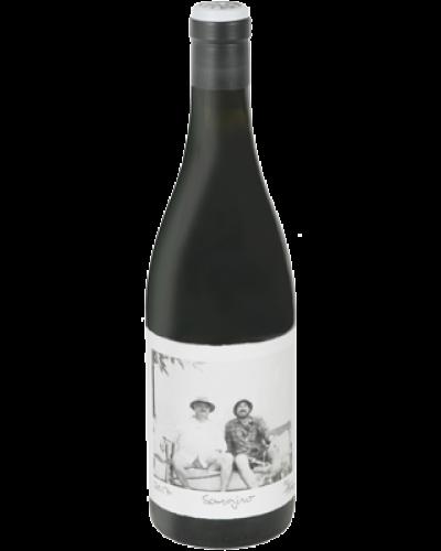 Swartberg Wingerde Sangiro Pinotage 2017 wine bottle shot