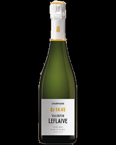 Valentin Leflaive Cuvee Extra Brut Blanc de Blancs NV wine bottle shot