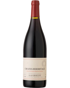 Alain Graillot Crozes Hermitage 2018 wine bottle shot