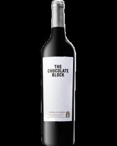 Boekenhoutskloof The Chocolate Block 2019 wine bottle shot