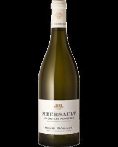 Henri Boillot Meursault 1er Cru Les Perrieres 2018 wine bottle shot