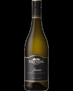 Eikendal Janina Unwooded Chardonnay 2020 wine bottle shot
