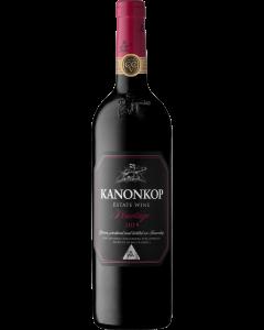 Kanonkop Black Label Pinotage 2016 wine bottle shot