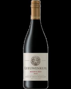 Leeuwenkuil Reserve Red 2018 wine bottle shot