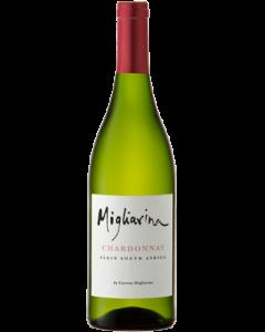Migliarina Chardonnay 2018 wine bottle shot