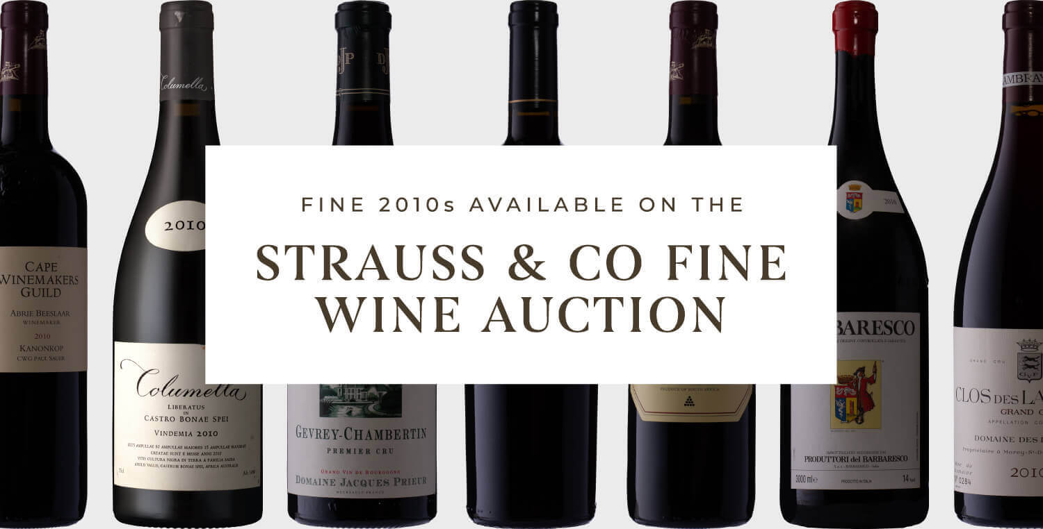 Strauss fine wine auction